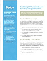 Self-Assess Your Daily Management Process
