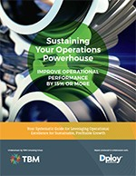 Sustaining Your Operations Powerhouse Report Cover