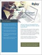 Dploy Solutions Project Management