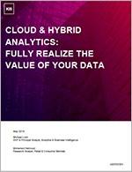 Cloud-based data analytics-Aberdeen Group
