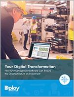 Approach Toward Digital Transformation - KPI Management