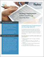 Policy Deployment Datasheet