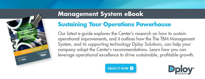 eGuide: Sustaining Your Operations Powerhouse - Dploy Solutions and TBM Consulting