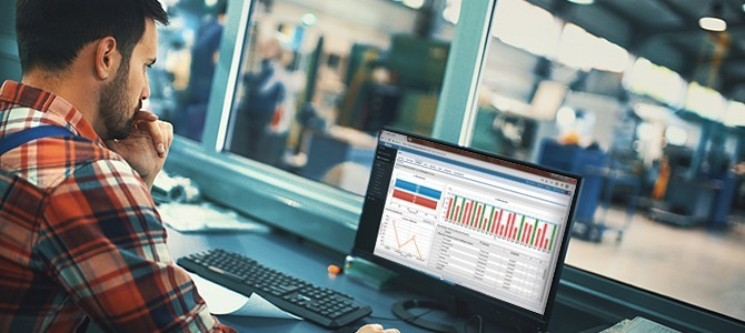 Dploy Solutions operations management software - Business process data visualization dashboards